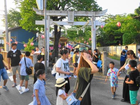 「小幡地区 白鳥神社祇園祭」⑥