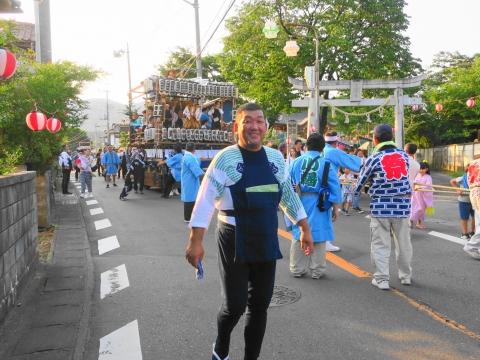 「小幡地区 白鳥神社祇園祭」⑤