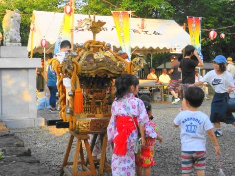 「小幡地区 白鳥神社祇園祭」⑪