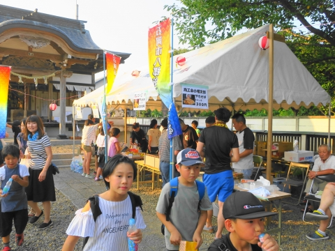 「小幡地区 白鳥神社祇園祭」⑭