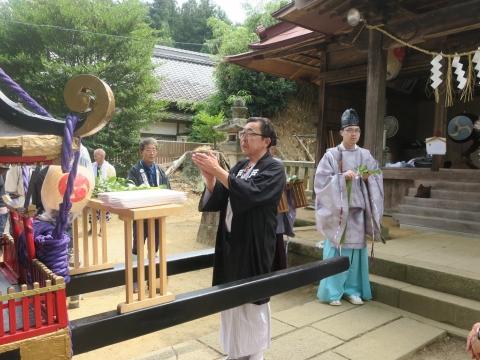 「三村須賀神社祇園祭7月21日」①