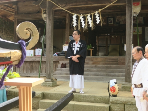 「三村須賀神社祇園祭7月21日」②