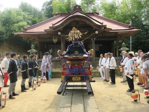 「三村須賀神社祇園祭7月21日」③