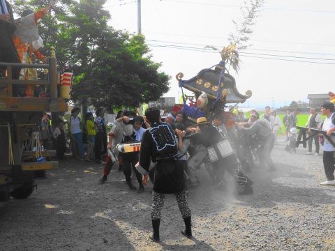 「三村須賀神社祇園祭7月21日」⑥