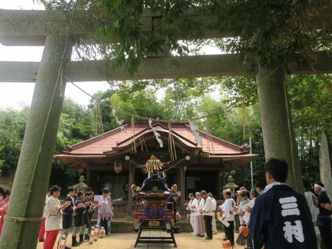 「三村須賀神社祇園祭7月21日」⑧