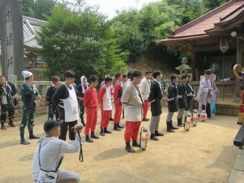 「三村須賀神社祇園祭7月21日」⑨