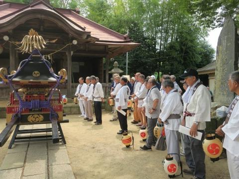 「三村須賀神社祇園祭7月21日」⑩