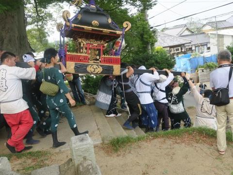 「三村須賀神社祇園祭7月21日」⑪