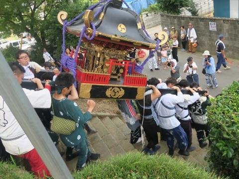 「三村須賀神社祇園祭7月21日」⑫