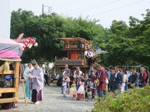 「三村須賀神社祇園祭7月21日」⑬