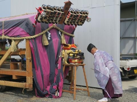 「三村須賀神社祇園祭7月21日」⑮