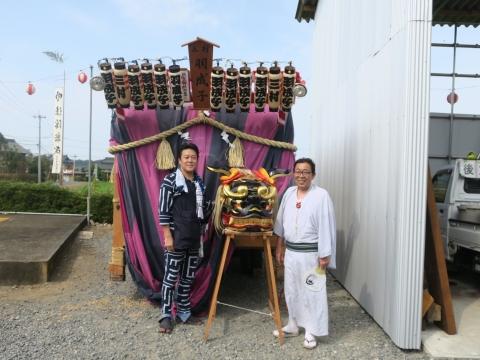 「三村須賀神社祇園祭7月21日」⑲
