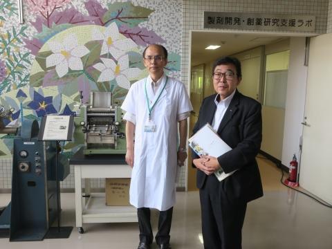 「富山県議会・薬事総合研究開発センター」視察⑬