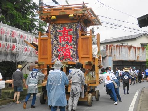 「高濱神社青屋祭」④