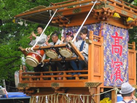 「高濱神社青屋祭」⑤