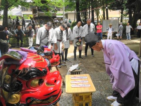「高濱神社青屋祭」⑦