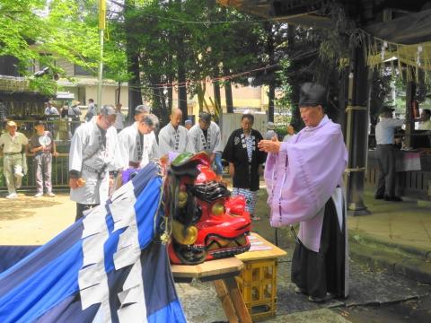 「高濱神社青屋祭」⑧