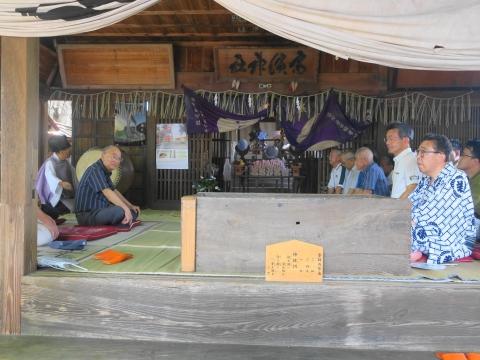 「高濱神社青屋祭」⑫