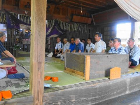 「高濱神社青屋祭」⑬