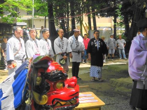 「高濱神社青屋祭」⑯