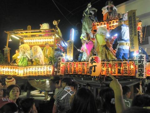「柿岡八坂神社」祗園祭⑦
