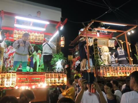 「柿岡八坂神社」祗園祭⑧