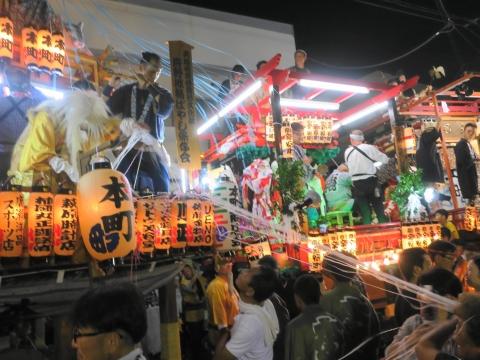 「柿岡八坂神社」祗園祭⑨
