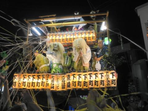 「柿岡八坂神社」祗園祭⑩