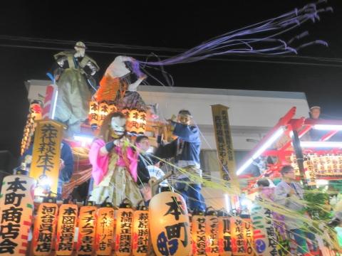 「柿岡八坂神社」祗園祭⑪