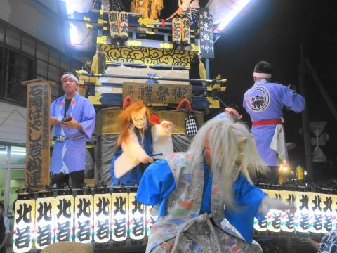 「柿岡八坂神社」祗園祭⑫