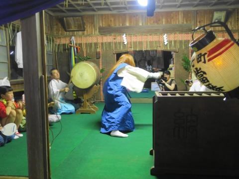 「柿岡八坂神社」祗園祭⑭