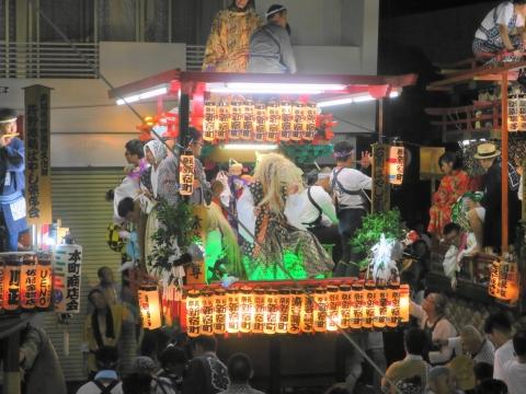「柿岡八坂神社」祗園祭⑰