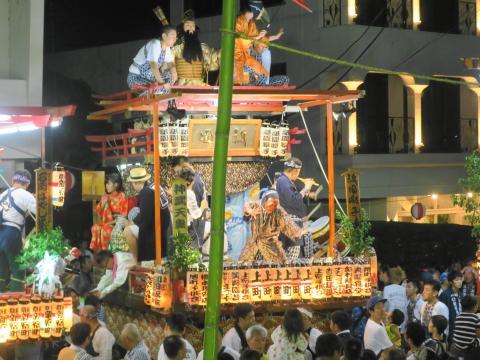 「柿岡八坂神社」祗園祭⑱