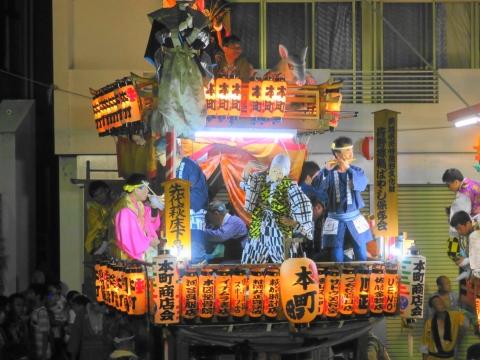 「柿岡八坂神社」祗園祭⑲