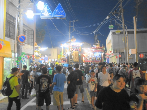 「柿岡八坂神社」祗園祭⑳