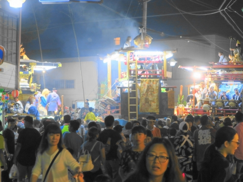 「柿岡八坂神社」祗園祭㉑