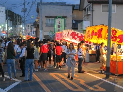 「柿岡八坂神社」祗園祭㉒