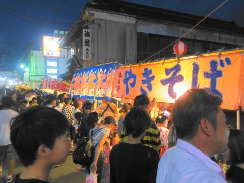 「柿岡八坂神社」祗園祭㉕