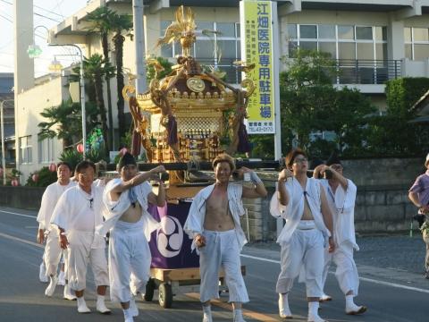 「柿岡八坂神社」祗園祭㉗
