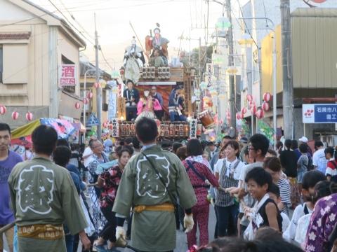 「柿岡八坂神社」祗園祭㉘