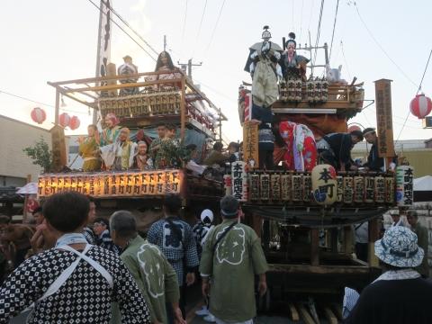「柿岡八坂神社」祗園祭㉙
