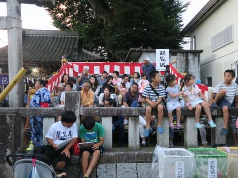 「柿岡八坂神社」祗園祭㉚