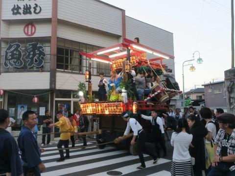 「柿岡八坂神社」祗園祭㉛