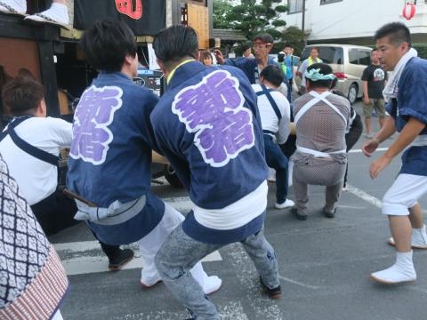 「柿岡八坂神社」祗園祭㉜