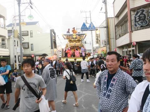 「柿岡八坂神社」祗園祭㉝