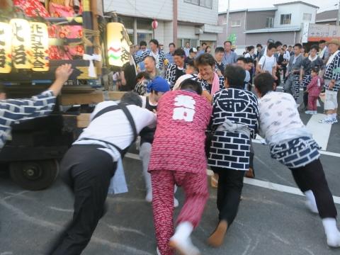 「柿岡八坂神社」祗園祭㉞