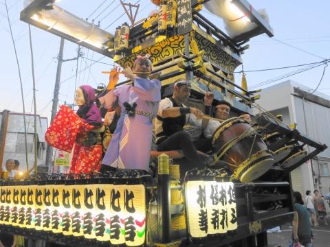 「柿岡八坂神社」祗園祭㉟