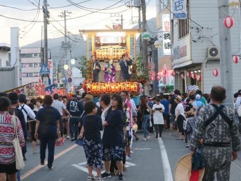 「柿岡八坂神社」祗園祭㊱