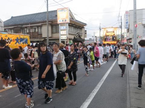 「柿岡八坂神社」祗園祭㊲