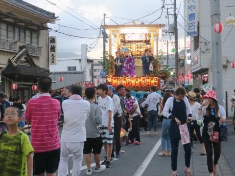 「柿岡八坂神社」祗園祭㊳